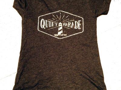 Quiet Parade Lighthouse Shirt (Women's) | Charcoal Grey & Royal Blue main photo