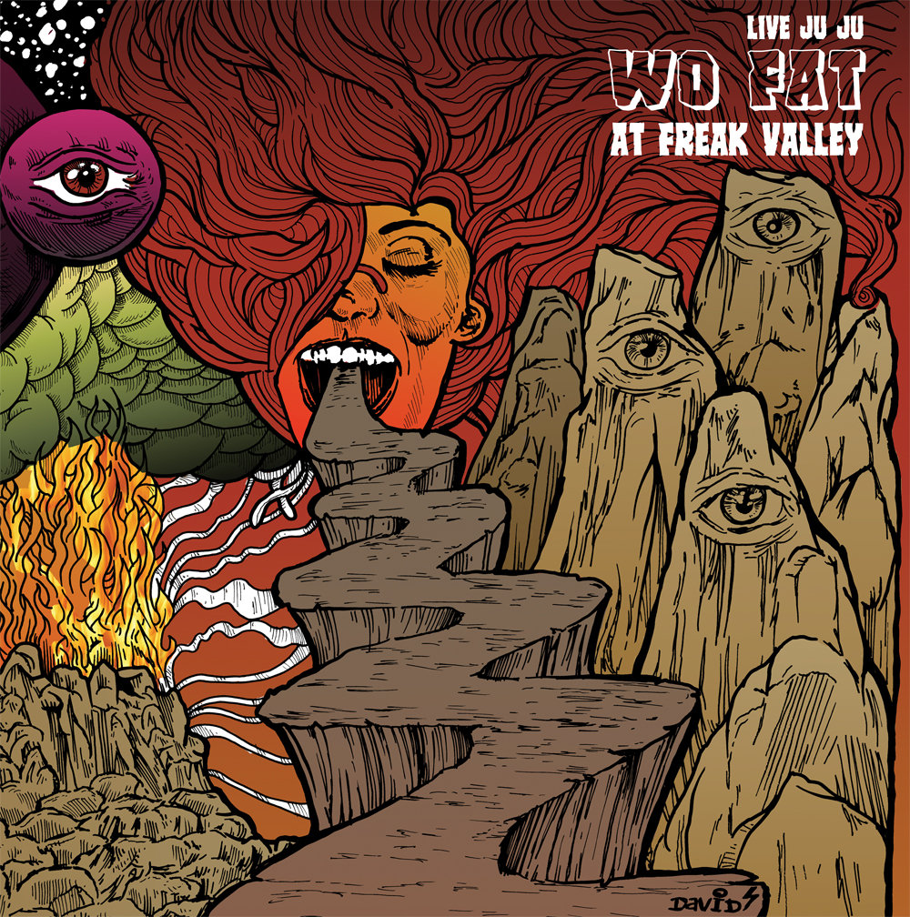 Wo Fat Live Juju At Freak Valley And Beyond Andrew Field