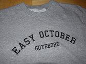 "Sweatshirt - ""College/Göteborg"" photo"