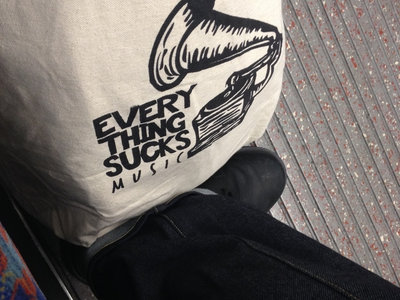 Everything Sucks Music Tote Bag main photo