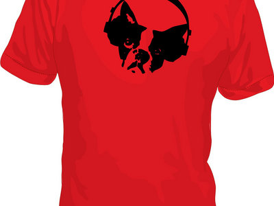 Pups Tee - Red main photo