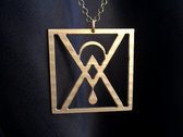 Old World New Wave Sigil Necklace photo