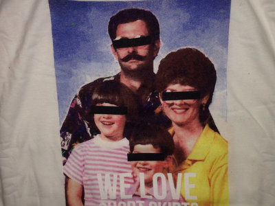 """WE LOVE SHORT SKIRTS T-SKIRT"" main photo"