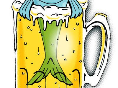 Brewfish Beer Mug Sticker main photo