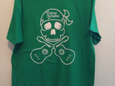 Tracey Browne Skull design T-shirt photo