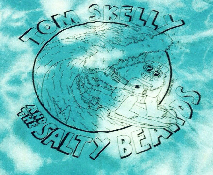 Tom Skelly and The Salty Beards T-Shirt | Warren Records