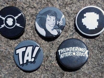 Thundering Pins! (set of 5) main photo