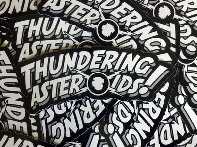 Thundering Sticker! main photo
