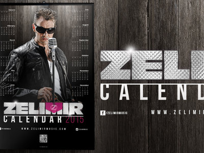 ZELIMIR 2015 Calendar Official (LIMITED) + Judy FREE Download main photo