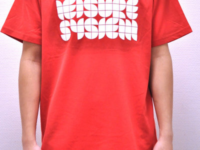 Leisure System White-On-Red T-Shirt main photo