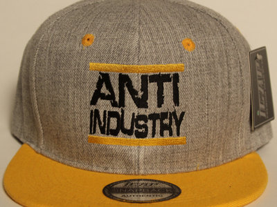 Grey/Yellow Run Antiindustry snapback main photo