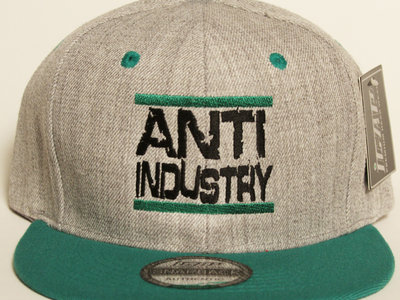 Grey/Green Run AntiIndustry Snapback main photo