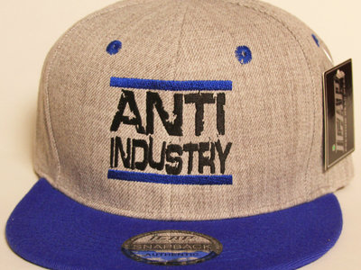Grey/Blue Run AntiIndustry Snapback main photo