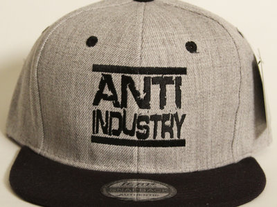 Grey/Black Run AntiIndustry Snapback main photo