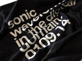 """Sonic Waveforms"" Graffite Grey T-Shirt photo"