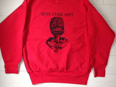 """Torture Machine"" Sweater - Red main photo"