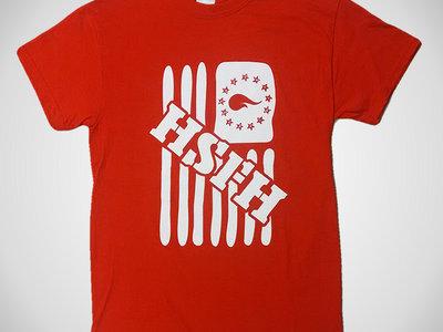 HSFH Flag T-shirt in Red main photo