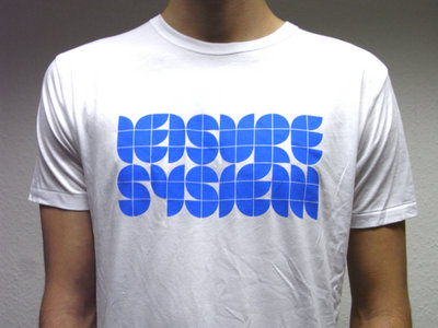 Leisure System Blue-On White T-Shirt main photo