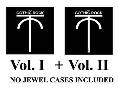 2CDs Special Offer: This is Gothic Rock Vol.I + Vol. II WITHOUT Jewel Cases main photo