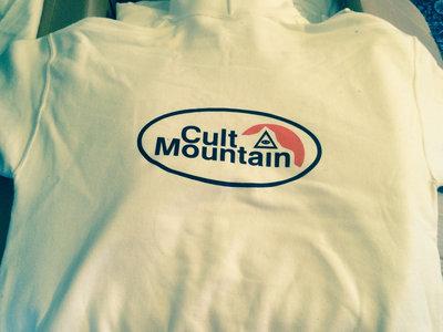 Cult Mountain 616 Hooded Sweatshirt. WHITE. main photo