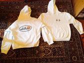 Cult Mountain 616 Hooded Sweatshirt. WHITE. photo