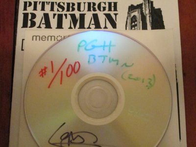 PITTSBURGH BATMAN Limited Edition DVD(R) main photo