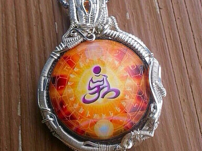 Wire Wrapped Orgone Vortex Necklace main photo