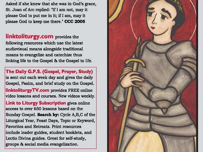 Saint Joan of Arc - Spiritual Armor Card [25 Cards] main photo