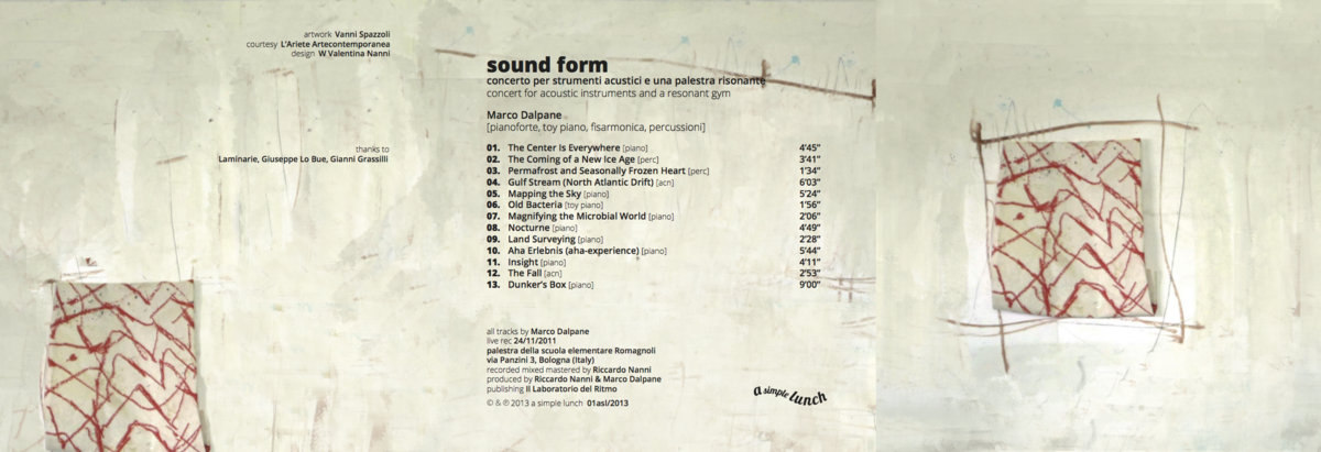 sound form (concert for acoustic instruments and a resonant gym)   a ...