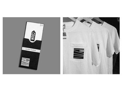 Special Pack: USB LTD 1 Year Anniversary + COUM silkscreen print handmade t-shirt. main photo