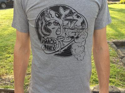Surfing Animals T-Shirt - Grey main photo