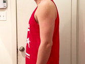 All Messed Up - Red Tank Top photo