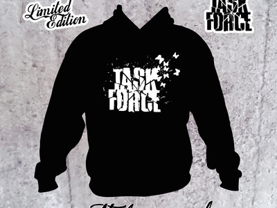TASK FORCE - BLACK HOODIE - Ltd Edition main photo