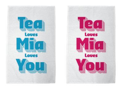 Mia Dyson Tea Towel (aka Dish Towel) main photo