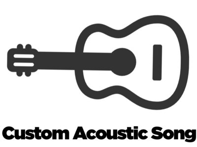 commission an acoustic song! main photo
