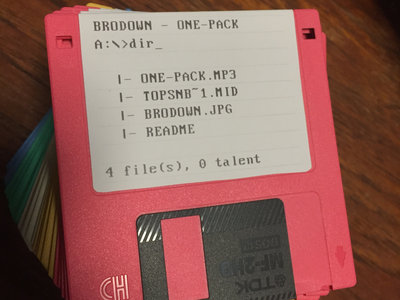One-Pack (Floppy Disk Single) main photo