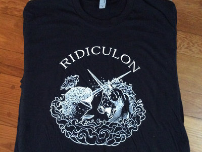Ridiculon T - Shirts!  In true black! main photo