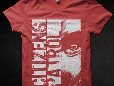 Citizens Patrol - Retarded Nation shirt (Red/Black) main photo