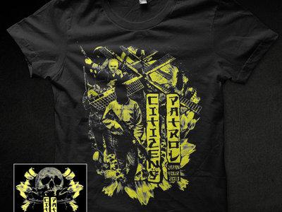 Citizens Patrol - Japan shirt (Black) main photo