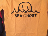Sunshine Orange Sea Ghost T-Shirt photo