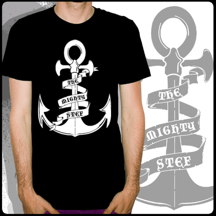 Anchor T Shirt Design Pre Used With Love By Band The