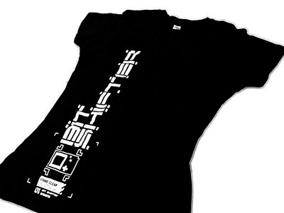 Bit Shifter t-shirt • vertical stencil emblem main photo