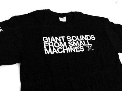 "Bit Shifter t-shirt • ""Giant Sounds"" design main photo"