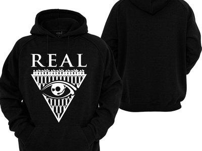 REAL HOODIE - BLACK main photo