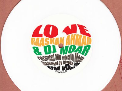 Dj Moar - L.O.V.E feat Raashan Ahmad / feat Aima The Dreamer (7inch) main photo