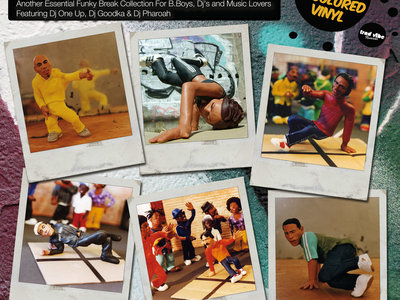 "Dj Moar ""Tribute To B-Boys Vol.2"" (LP) main photo"