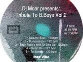 "Dj Moar ""Tribute To B-Boys Vol.2"" (LP) photo"