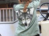 Vintage Military Wolf Jacket photo