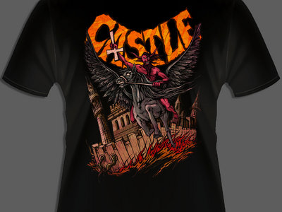 """Devil Rides"" Tshirt main photo"