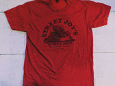Street Joy's Sloppy Joes T - Vintage Red photo
